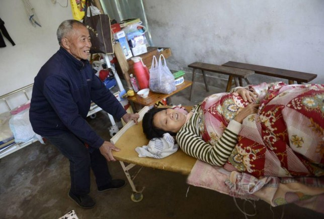 "A man in China who borrowed money from hundreds of his neighbours 25 years ago to pay for lifesaving treatment for his wife has now repaid every single penny. Mei Guanghan, 66, went begging from house to house in order to get enough cash to pay the medical fees to save his wife who became paralysed from the waist down through a rare nervous disorder. While begging for help he carefully noted down the amount each person gave him in a little brown notebook.  ""One day,"" he said to all the donors, ""I will be back knocking on your door with your money."" Ten years ago he began doing just that, and this week the debt was finally repaid - all except for the occupants of four houses who moved away in the time he was saving up to make the repayments. Mei, of Tingpang Town in Zhejiang Province in the east of China, is only a farmer with a low income and embarked on his quest to save his wife's life after borrowing everything he could from relatives, friends and neighbours. ""I had no other option open to me,"" he said. ""The kindness of strangers saved her life, although she did eventually become disabled."" He still plans to track down the four people who he owes money to ""even if it takes me the rest of my life, even if they are dead and I have to pay their relatives.  Honour is honour and I don't believe in taking something for nothing."" He and his wife still live in a shabby one-bedroomed house with little furniture and no indoor sanitation. His wife Ren Chun'ai said: ""He is a good and honourable man. So many others would have taken the money and not thought twice about it. He went poor all his life to pay these people back."""