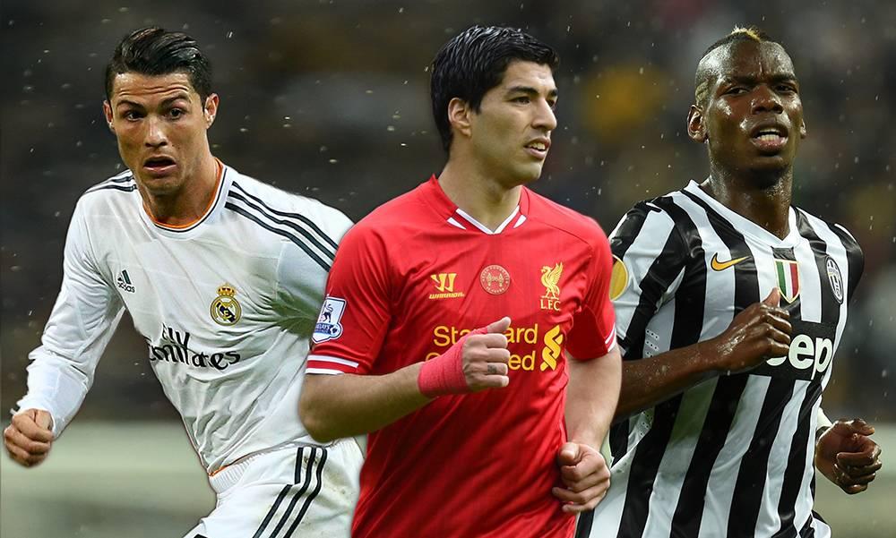 World Cup best XI of the season: From Cristiano Ronaldo to Luis Suarez through Paul Pogba