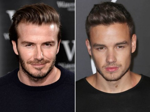 5 pictures that prove Liam Payne is morphing into David Beckham
