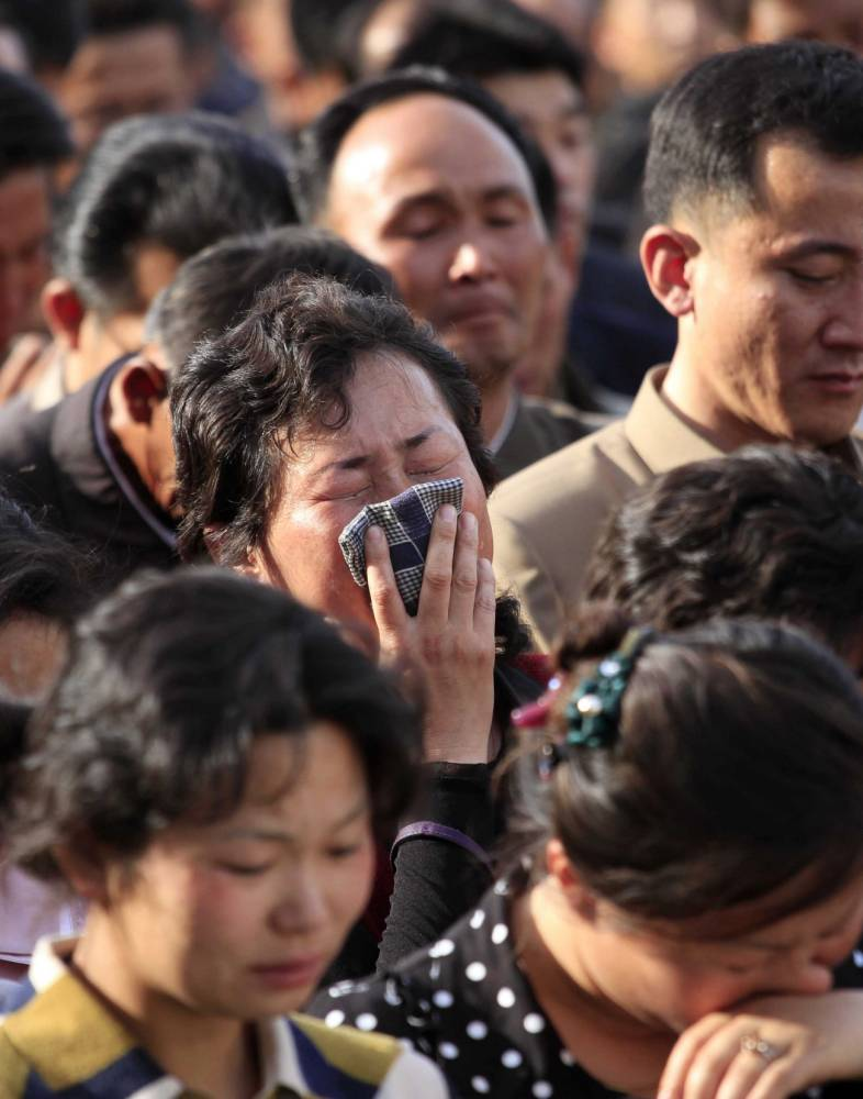 North Korea 'sorry' as hundreds are feared dead in 23-storey block collapse