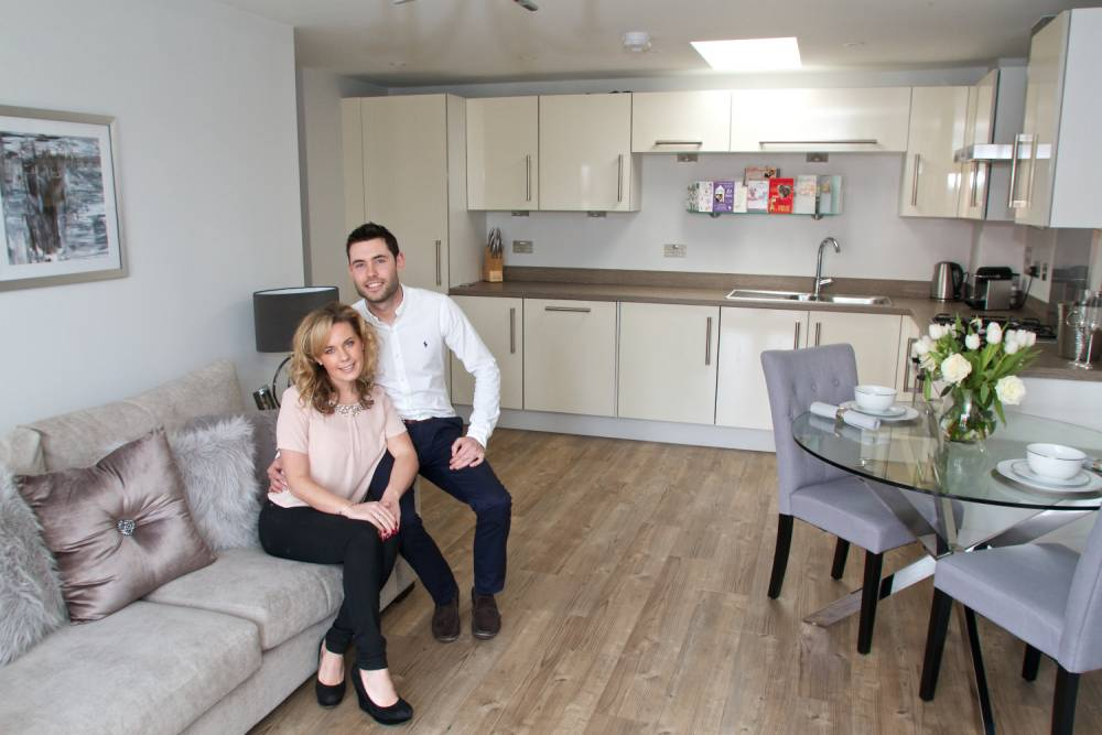Property: One pilot's leg up on to the property ladder