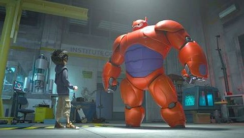 These pics from Disney's animated Marvel project Big Hero 6 just made us very excited