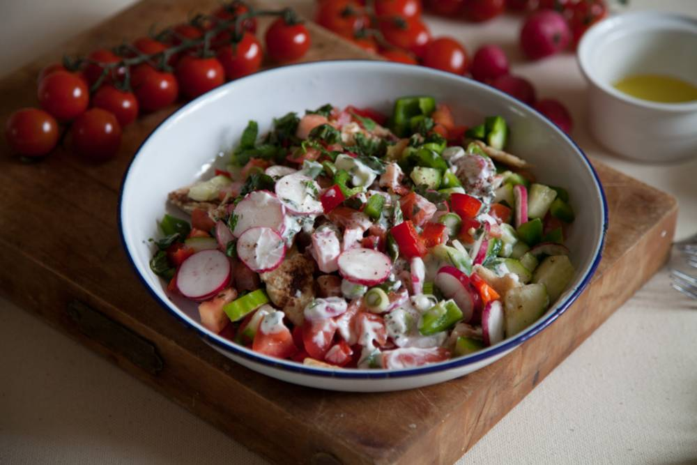Veg to kick-start your summer: The ultimate fattoush recipe