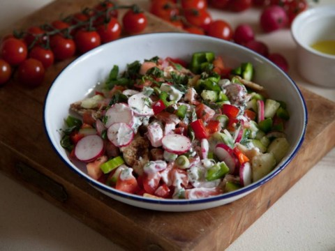 Veg to kick-start your summer: The ultimate fattoush recipe
