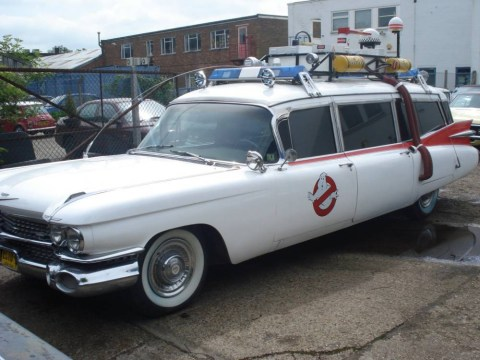 'I feel like David and Victoria Beckham when I'm driving it': Ghostbusters car stops traffic in Surrey as owner puts it up for sale at £170,000