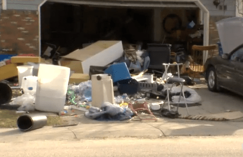 Possible house explosion revealed to be… just a messy house