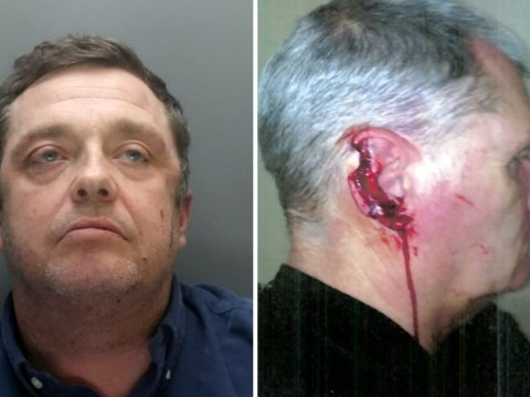 Man sentenced to eight years for biting off police officer's ear