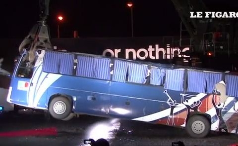 Crushed! Adidas destroy 'infamous' France 2010 World Cup bus in clever PR stunt