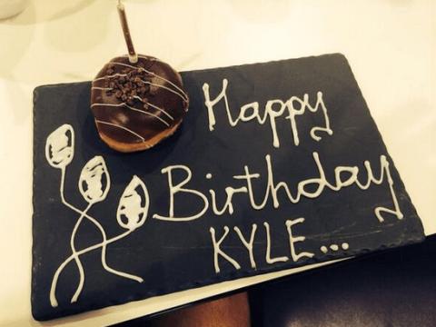 Tottenham send Kyle Walker a birthday doughnut… to stop him doing a Yaya Toure