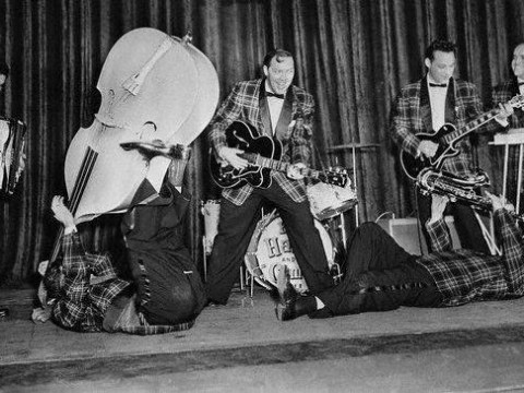 60 years on and Bill Haley's Rock Around The Clock is still ticking
