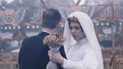 Sherlock star Amanda Abbington and the case of her mysterious bride cameo in the new Kaiser Chiefs video