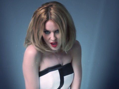 Big-hearted Kylie Minogue reveals the new video for her cancer charity song Crystallize