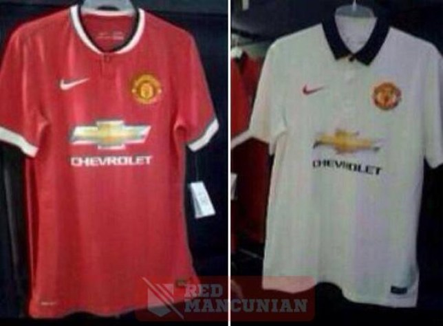 new concept 2c2e5 ae1a5 Manchester United kit leak: Manchester United's new kits for ...