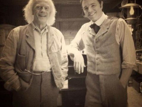 Back to the Future fan Seth MacFarlane enlists Christopher Lloyd for Doc Brown cameo in new film