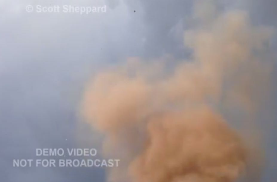 Watch: Incredible moment storm chaser is struck by lightning