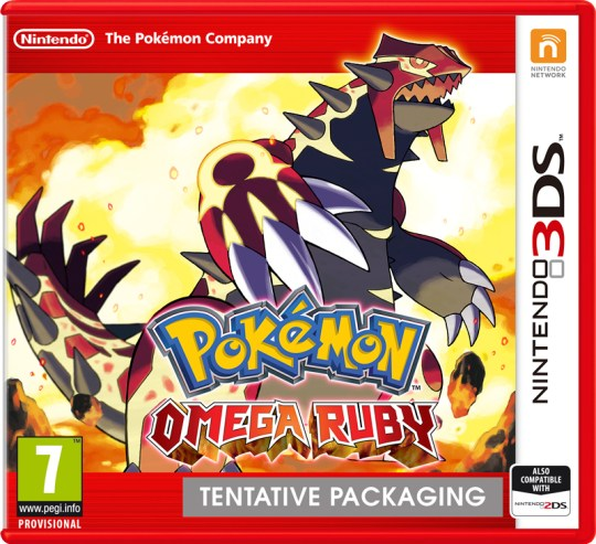 Pokémon Omega Ruby - gotta catch 'em all, again