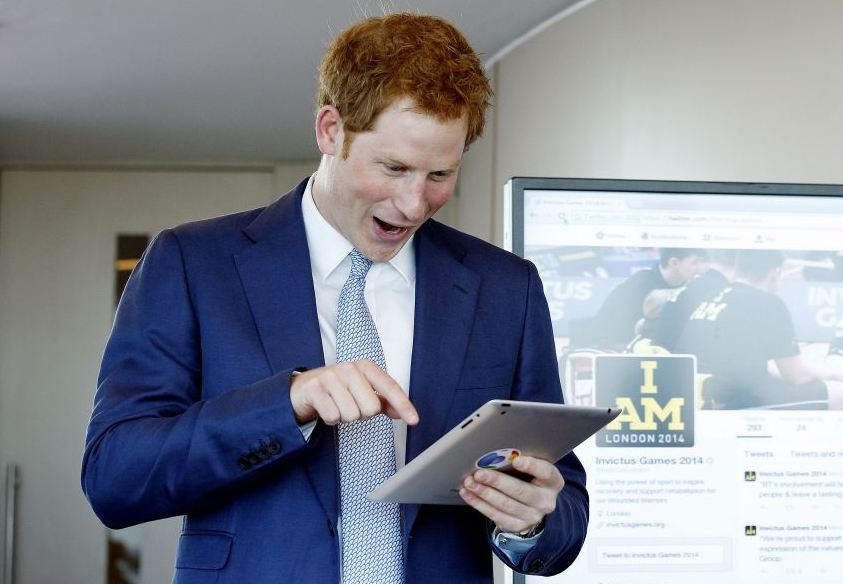 Prince Harry sends his first tweet (Picture: PA)