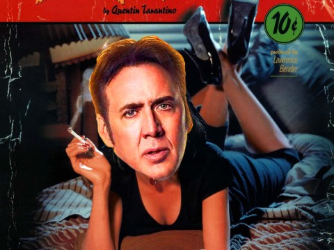 Putting a badly Photoshopped Nicolas Cage into any film poster automatically makes it better