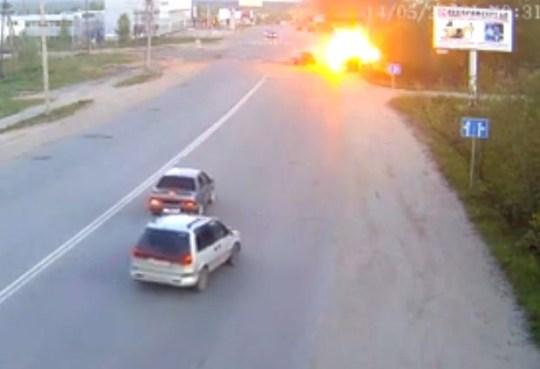Russia car crash