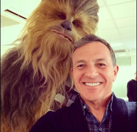 Just a casual Chewbacca selfie…