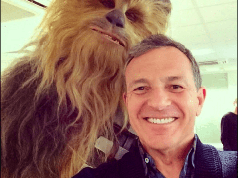 Just a casual Chewbacca selfie…