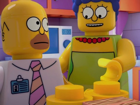 This is just another episode of The Simpsons. But in Lego form