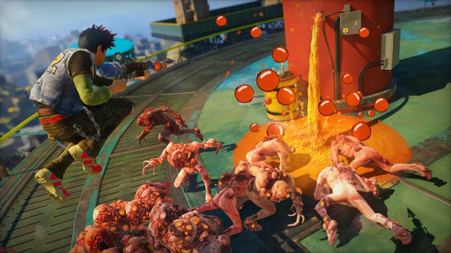 Sunset Overdrive - do you worry you've backed the wrong console?