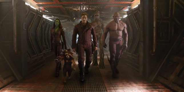 Only 17 minutes of Guardians of the Galaxy was shown, but it's very impressive (Picture: Marvel)