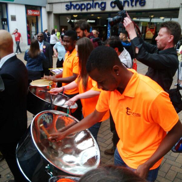 Ukip 'mini-carnival' in Croydon ends in disaster after steel band refuses to play