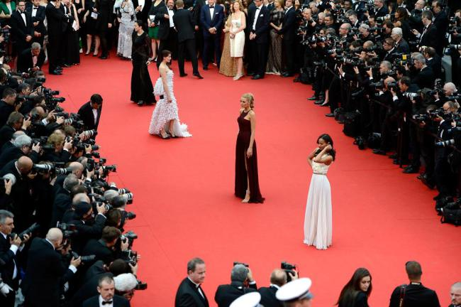 What were the red carpet trends at Cannes? (Picture Ian Gavan/Getty)