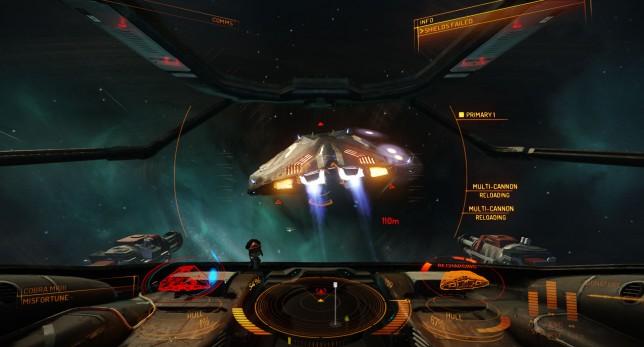 Elite: Dangerous - Cobra commander