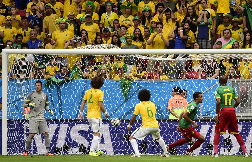 It's NOT just like watching Brazil – Cameroon stun home fans in Brasilia