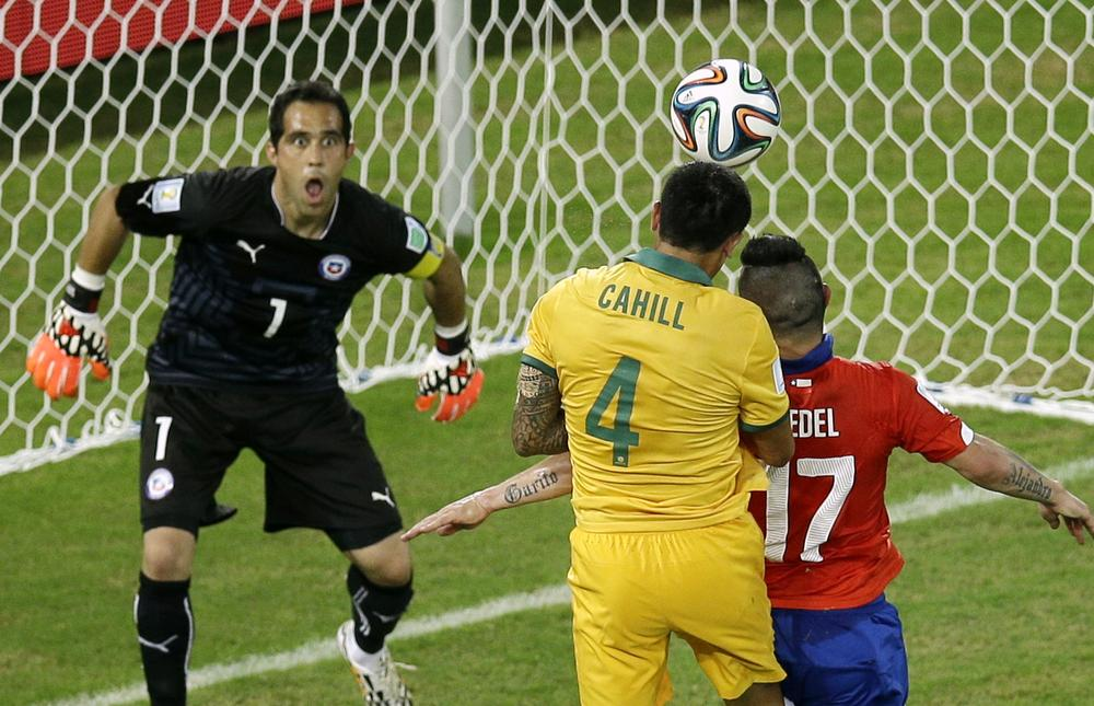 Australia's Socceroos pay the price for early jitters against Chile