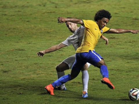 Can Willian pip Chelsea team-mate Oscar to starting role for Brazil in World Cup?