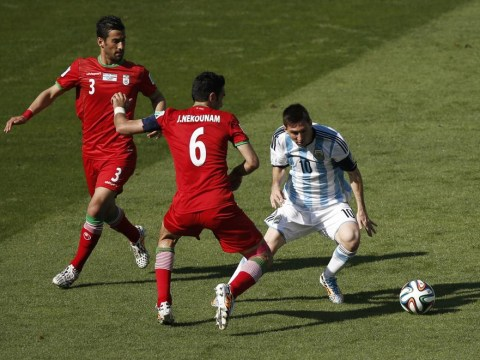 Lionel Messi saves the day for below-par Argentina against Iran