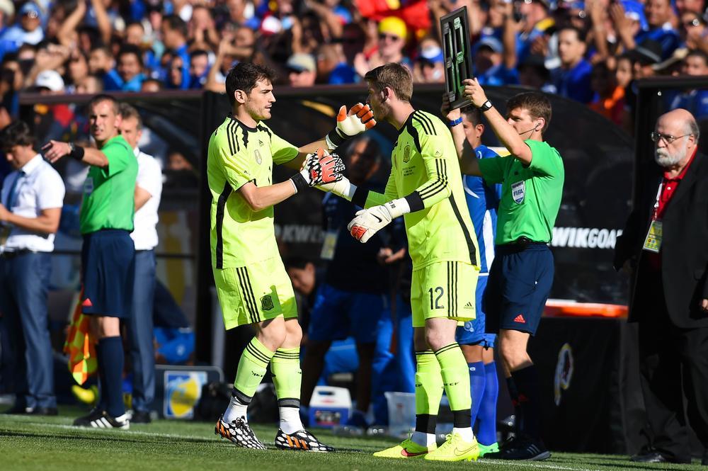Manchester United duo David de Gea and Adnan Januzaj's international debuts give glimpse into future