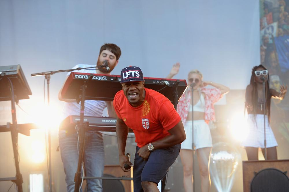 Rudimental Feel The Lightning as their Glastonbury Festival 2014 set is cut short