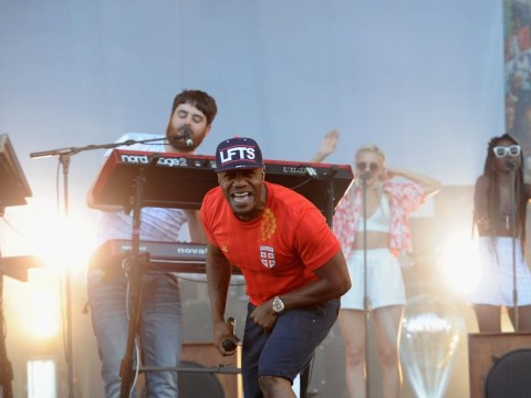 Rudimental Feel The Lightning as their Glastonbury Festival 2014 set is cut short