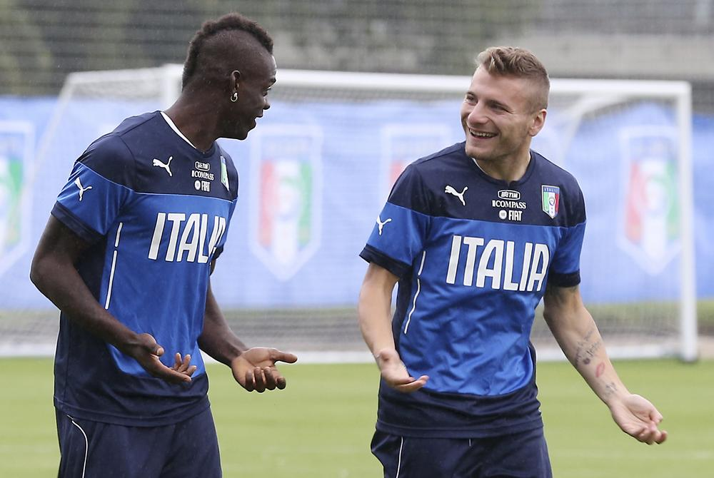 Will Mario Balotelli or Ciro Immobile start for Italy against England?
