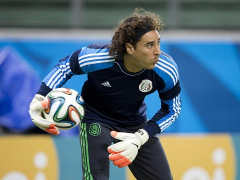57d3198a5 Liverpool and Arsenal  chase Mexico hero Guillermo Ochoa  after Brazil  masterclass