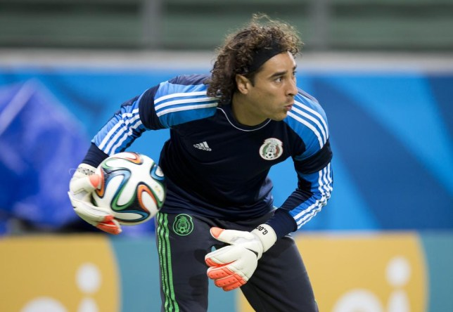 385cd0eff Guillermo Ochoa kept Brazil at bay with a series of fine saves (Picture: AP)