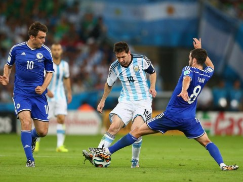 World Cup 2014: Slow start for Lionel Messi who struggles in first-half of Argentina's opener against Bosnia