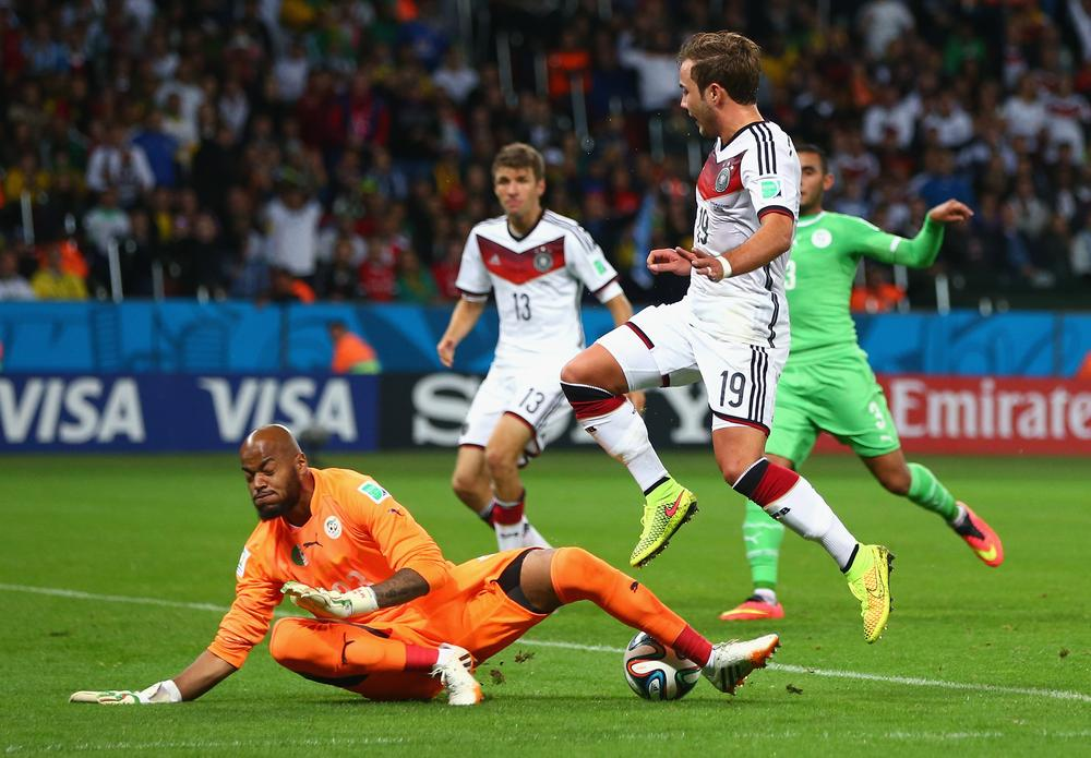 Wondersave keeps Algeria on level terms with Germany in tense battle
