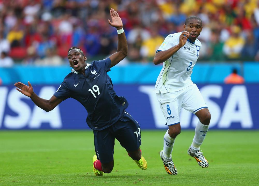 Honduras and Wilson Palacios get karma served in fiesty World Cup clash with France