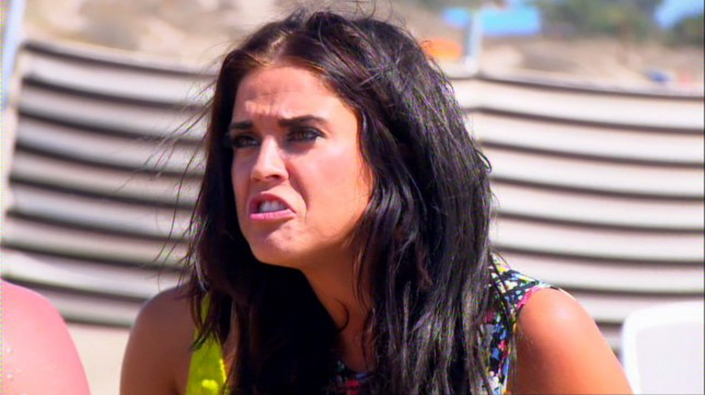 Ex On The Beach Ricci Guarnaccio and former Geordie Shore co-star Vicky Pattison