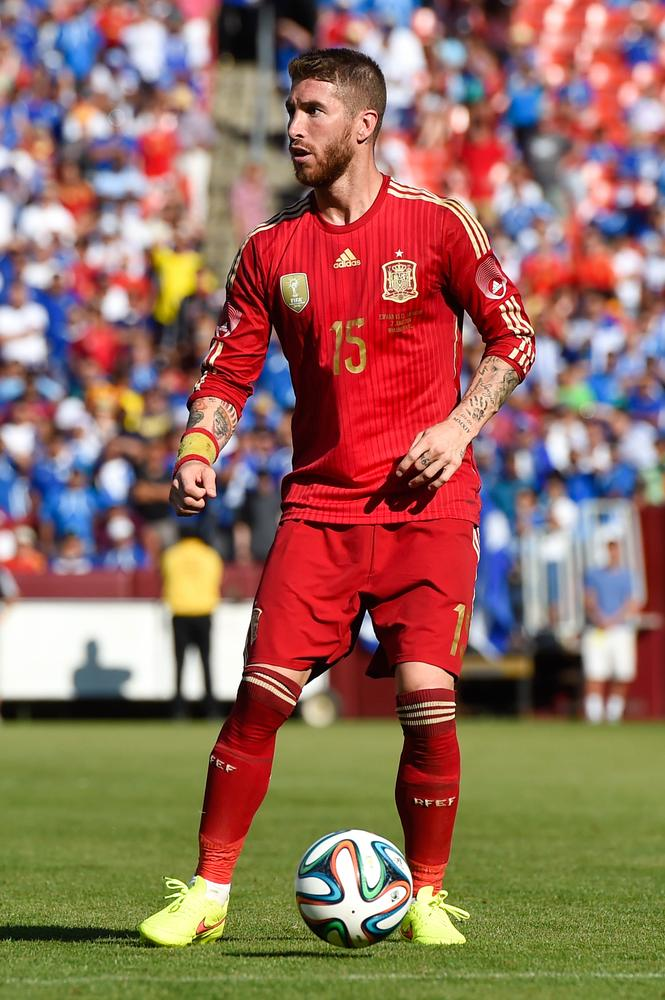 Sergio Ramos' battle with Manchester United's Robin van Persie will define opening game for Spain