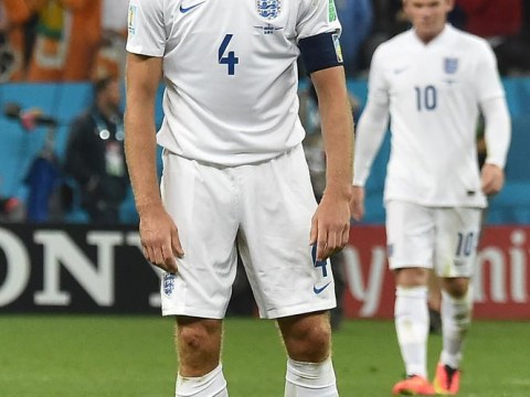 Steven Gerrard takes the heat for England's World Cup loss to Uruguay on Twitter