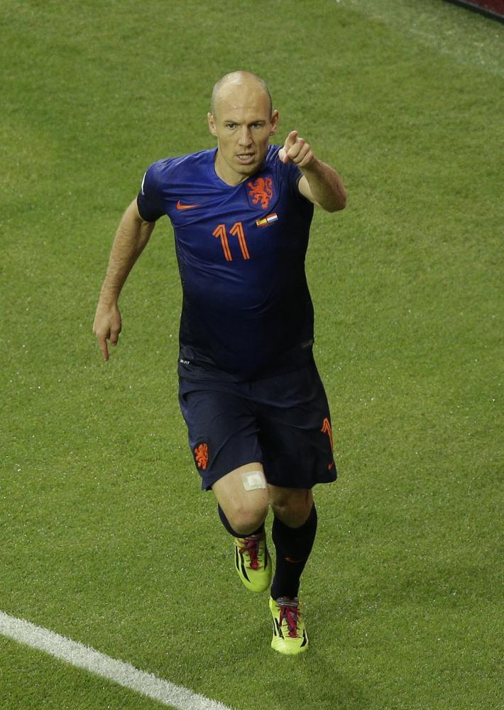 All hail Arjen Robben! The Dutch master of dribbling who left the Spanish dumfounded