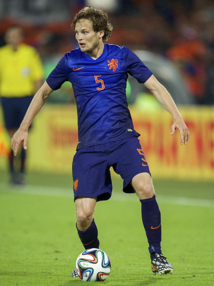 Forget Robin van Persie! Why Daley Blind was the real star as Netherlands dismantled Spain