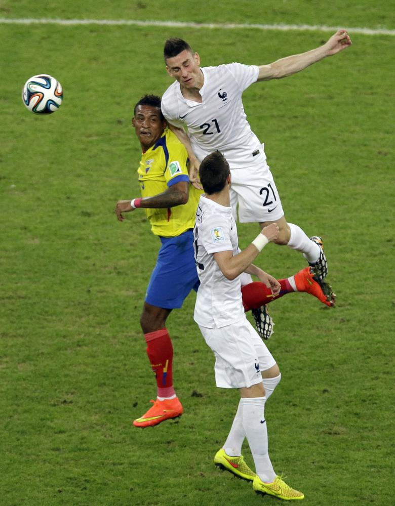 Arsenal's Laurent Koscielny has a chance at redemption against Nigeria